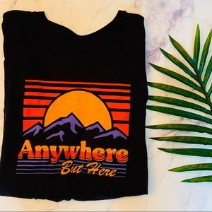 Neff Anywhere But Here Short Sleeve Graphic tee